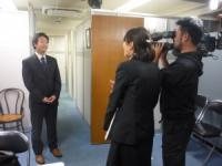テレビ大阪から取材がきました!