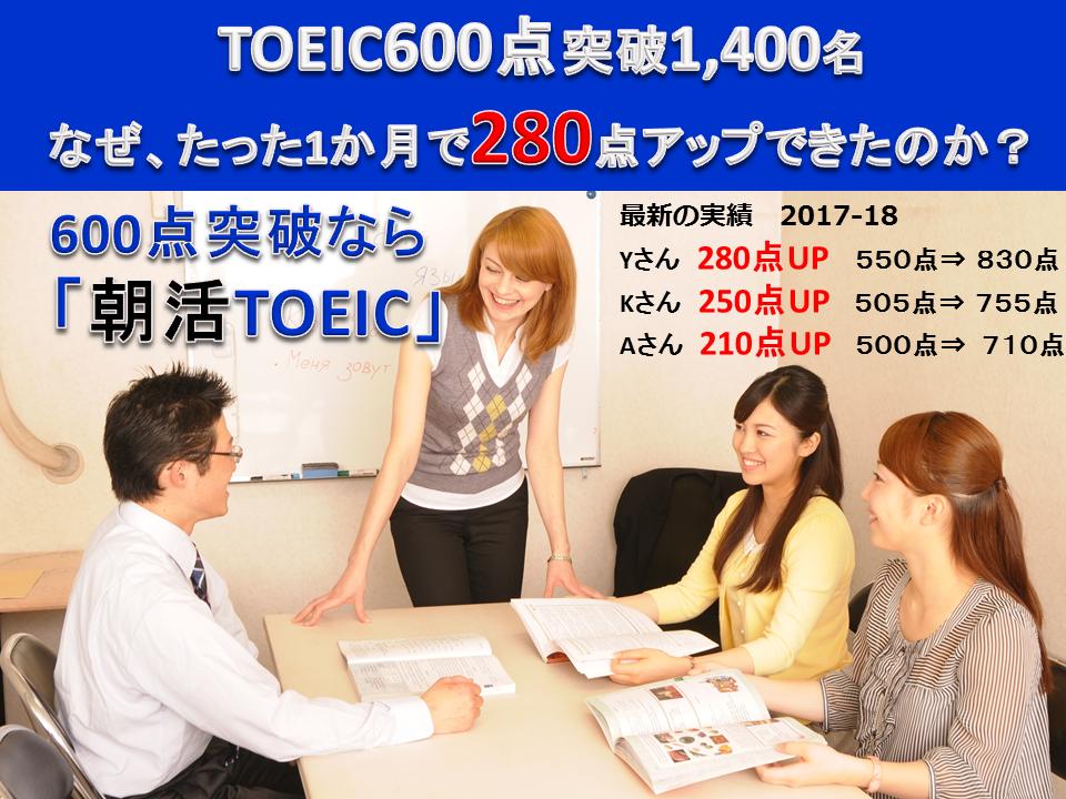 「朝活TOEIC®L&R Test対策講座」東京渋谷