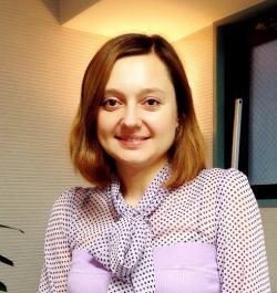アイザック外国語スクール講師 Tkachuk Tetiana