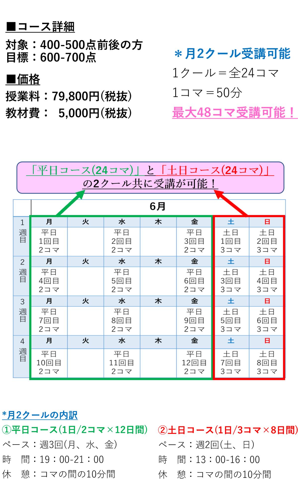 コース内容・料金