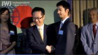 金城先生が「世界で活躍し『日本』を発信する日本人」として表彰