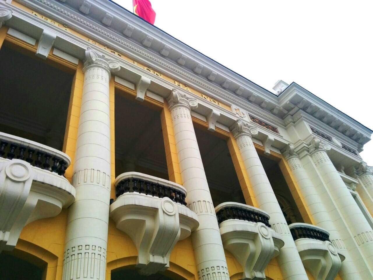 歴史に思いを馳せて回る!ハノイのフランス建築ツアー!