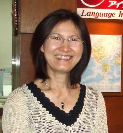 アイザック外国語スクール講師 Supaporn Usami