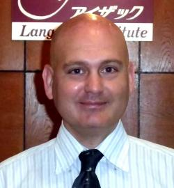 アイザック外国語スクール講師 Chris Pawlik