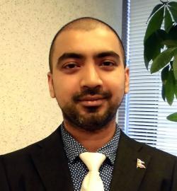 アイザック外国語スクール講師 Shivashish Jaishy